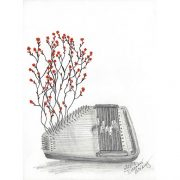Autoharp & Cherry Blossoms