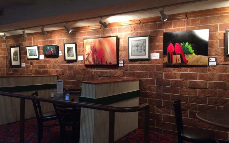 Dreamer Art Studio Exhibits at Nearly Famous Deli