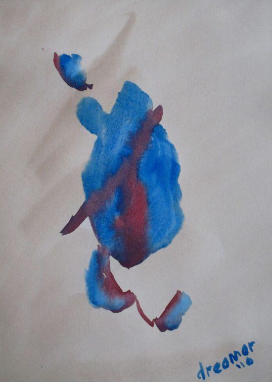 Watercolor Series of Dancing Fools