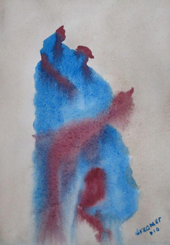 Watercolor Series of the Dancing Fool