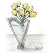 Harp & Tulips
