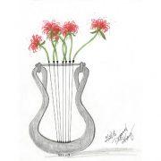 Lyre & Spider Lilies