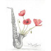Poppies & Sax