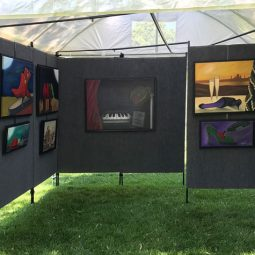 New Art Festival Display