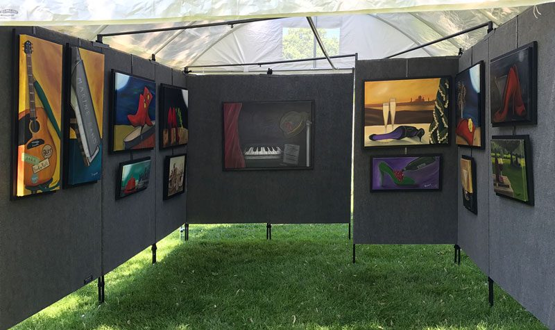 New Art Festival Display